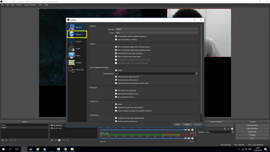 OBS Studios tutorial (twtich streaming) | digitalmakercollective org